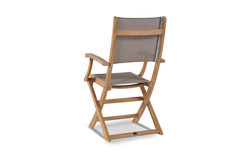 Folding Armchair With Sling