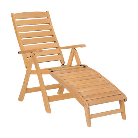 Five Position Chair With Footrest