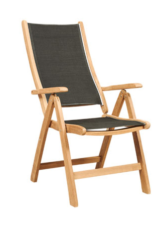 Five Position Chair With Textilene (Stainless Steel Girdle)