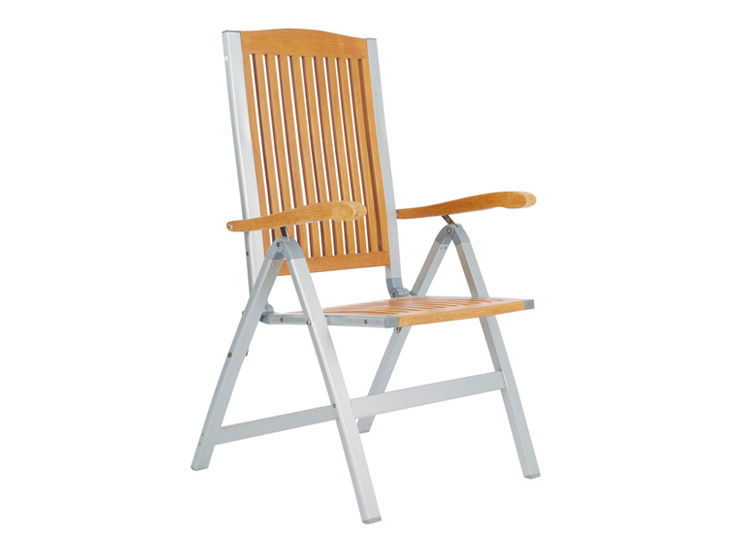 Five Posittion Chair With Alu Frame