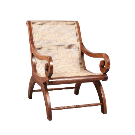Armchair With Rattan