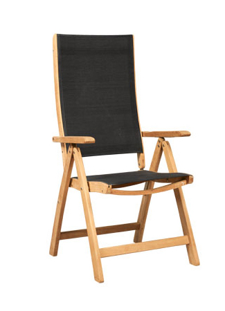 Five Position Chair With Textilene
