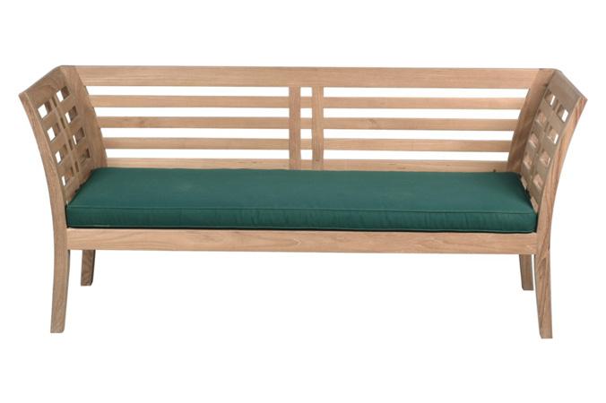 Paris Bench With Cushion