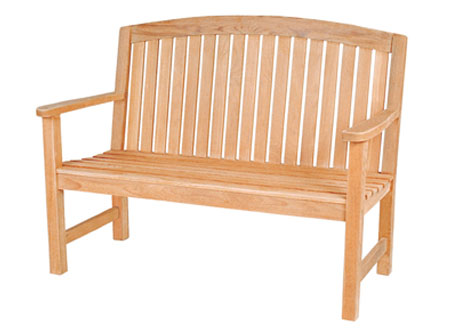 High Back Two Seater Bench