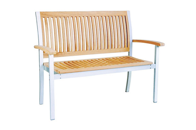 Three Seater Bench With Alu Frame