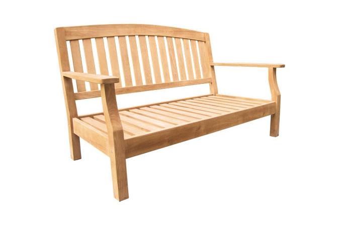 Charles Bench With Cushion