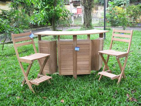 Folding Bar & Chair