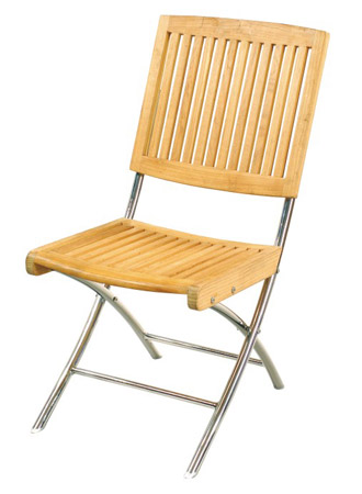 Folding Chair With S.S Legs