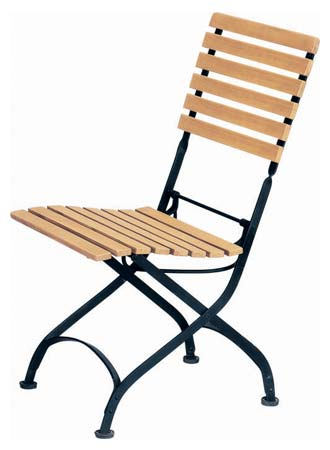 Folding Chair With Iron Frame