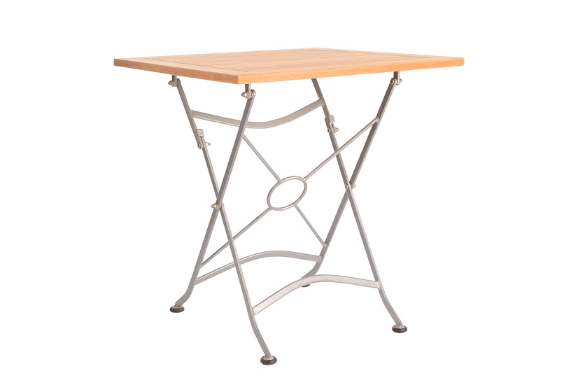 Table With Iron Frame