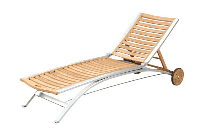 Sunlounger With Alu Frame