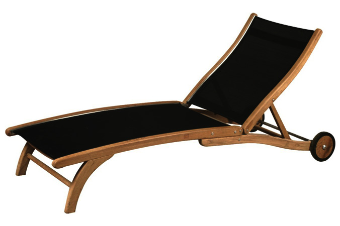 Sunlounger With Textilene