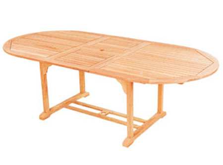 Oval Extension Table