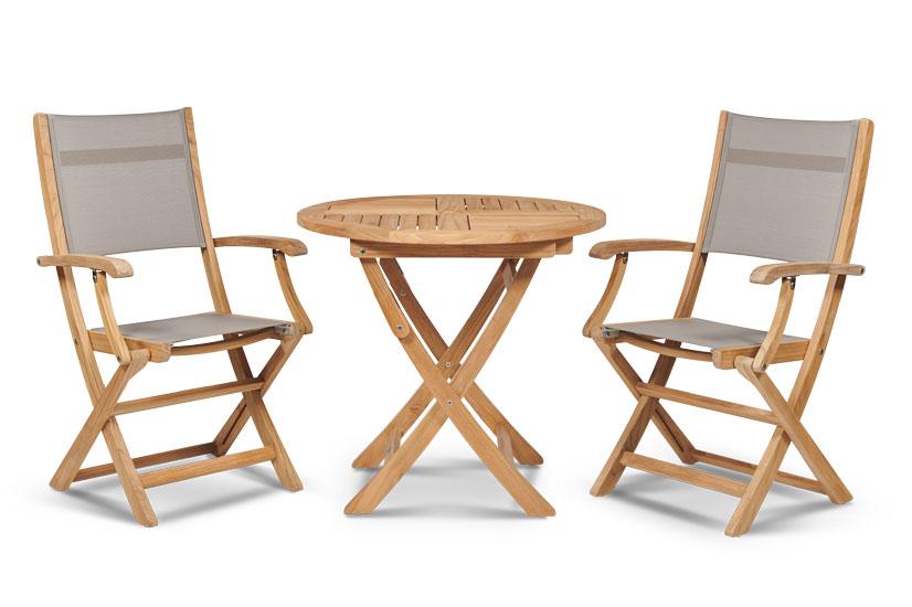 Bộ bàn ghế Stella Bistro mặt vải