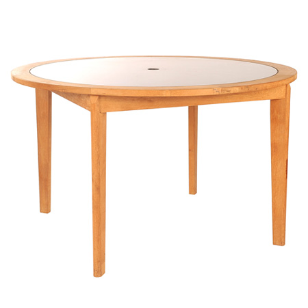 Round Table With Granit Top