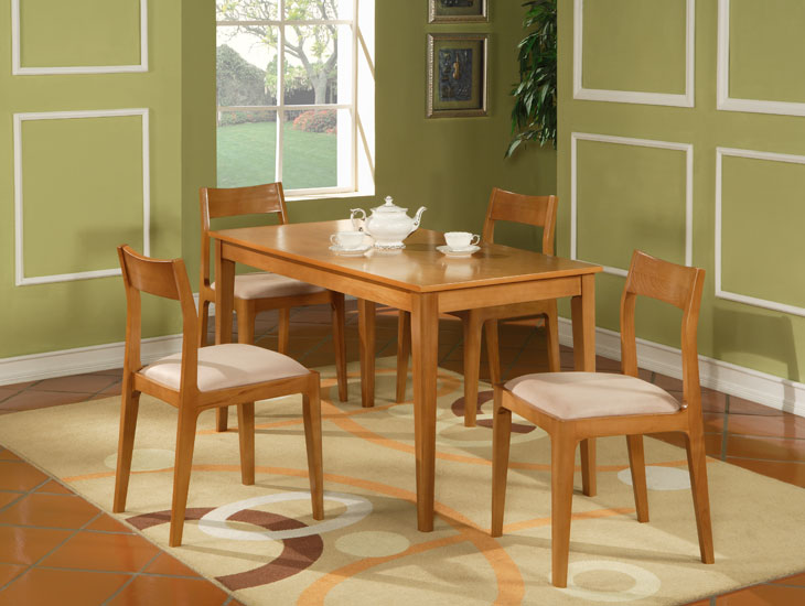 Dining Set (Rectangular Dining Table & Chair)