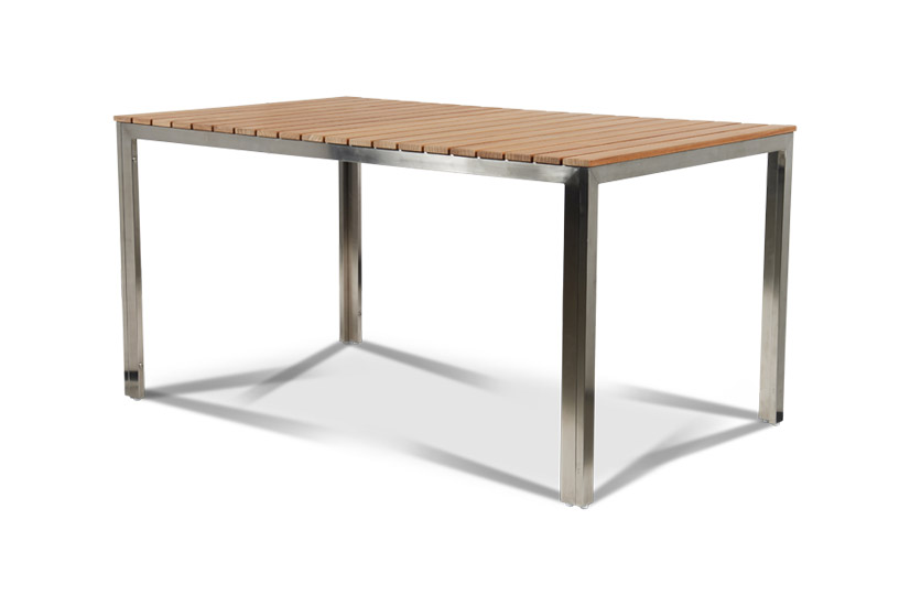 Table With Stainless Steel Frame