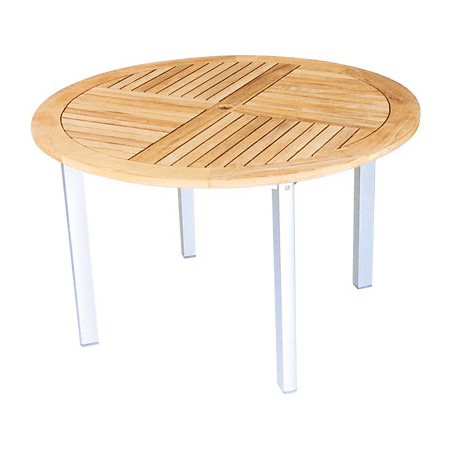 Round Table With Alu Legs