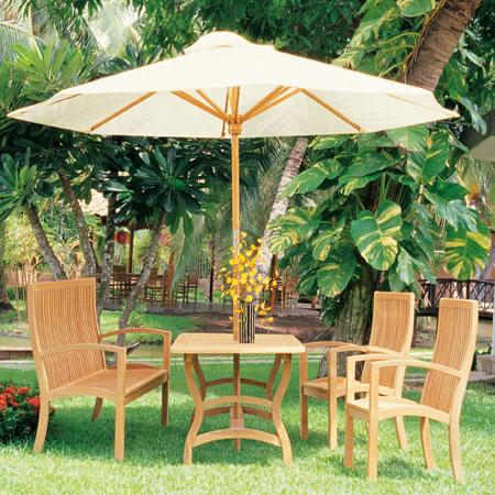 H Rectangular Table, H Armchair & H Bench