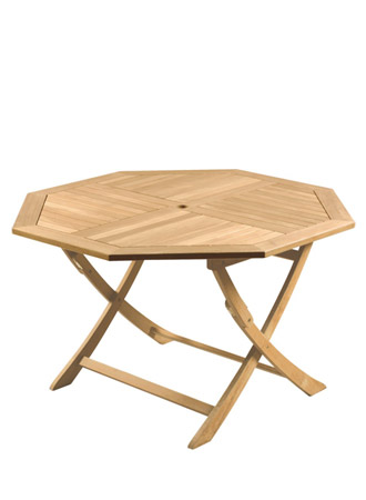 Octaganal Folding Table