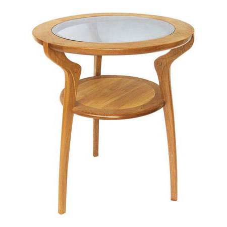 Hoai Viet Round Table With Glass Top
