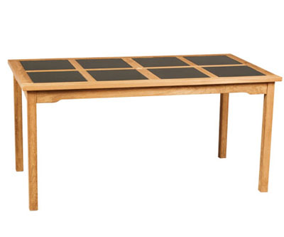 Rectangular Table With Granit Top