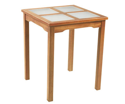Square Table With Glass Top