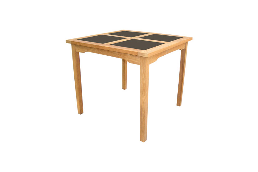 Square Table With Granit Top